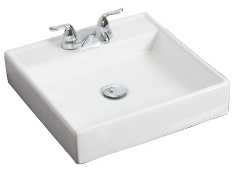 American Imaginations Above Counter Square Vessel Sink - SK4