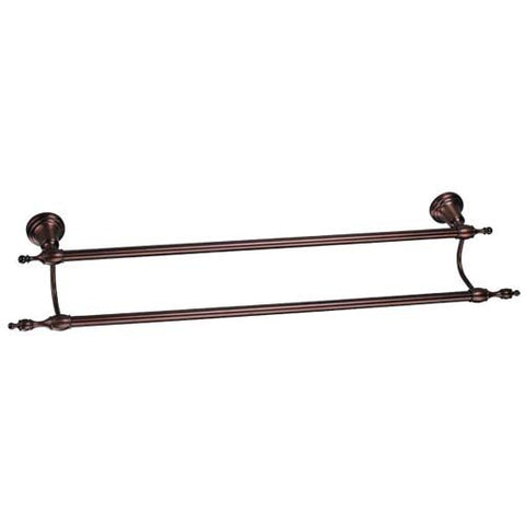 "Danze Sheridan Collection 24"" Double Towel Bar in Oil Rubbed Bronze - BA3"