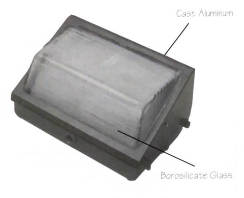 Medium Hid Wall Pack Exterior Light Lt7 Wholesale Expo