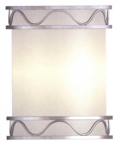Decorative Wall Sconce in Brushed Nickel - LT6