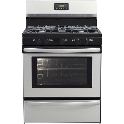 Frigidaire FFGF3052TS Gas Slide-in Stainless Range