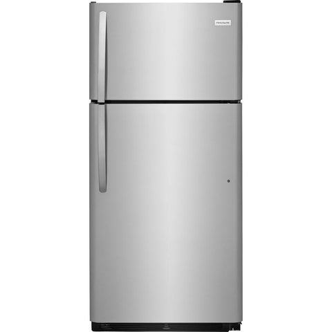 Frigidaire FFHT1832TS Top Freezer Refrigerator in Stainless Steel