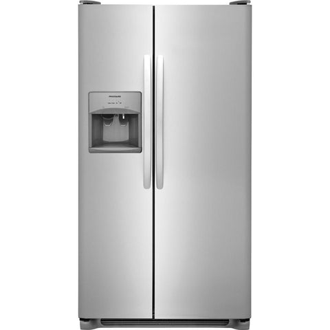 Frigidaire FFSS2615TS Stainless Steel Side by Side Refrigerator
