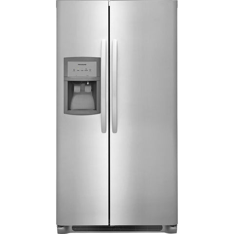 Frigidaire FFSS2625TS Side by Side Refrigerator in Stainless Steel