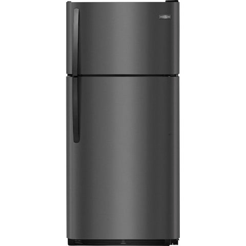 Frigidaire FFTR1821TD Top/Bottom Refrigerator in Black Stainless