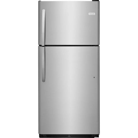 Frigidaire FFTR2021TS Top Freezer Refrigerator in Stainless Steel