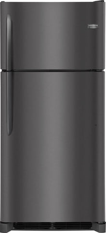 Frigidaire FGTR1842T Top Freezer Refrigerator in Black Stainless