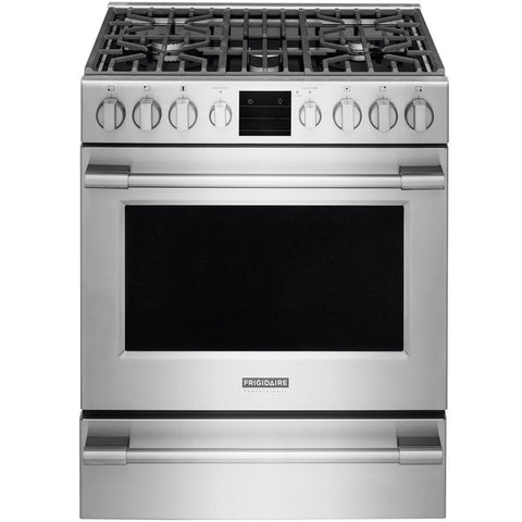 Frigidaire Professional FPGH3077RF 5-Burner Drop-in Gas Range in Stainless Steel