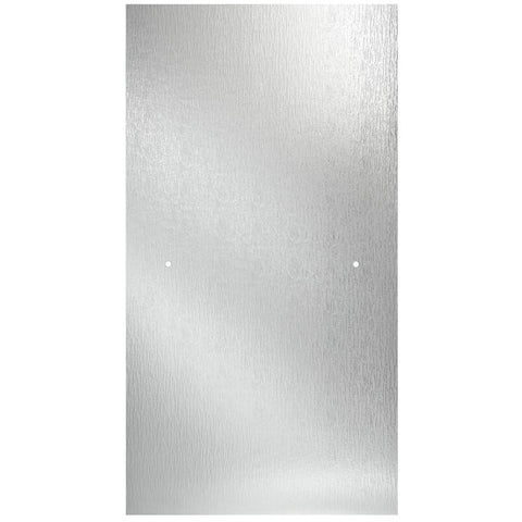 "33""  Pivot Textured Glass Shower Door in Rain Pattern - BA3"