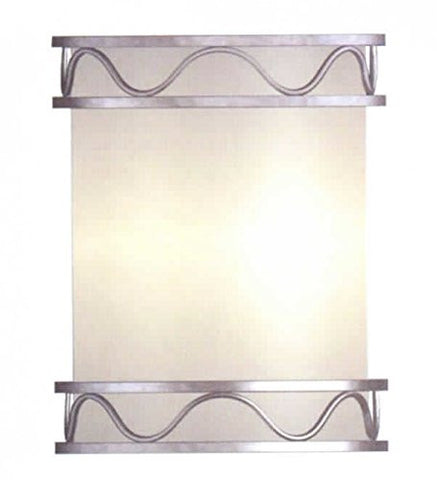 Decorative Wall Sconce Brushed Nickel by Epiphany - LT6