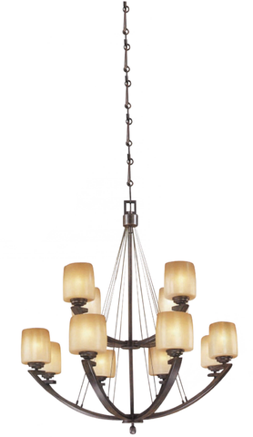 Decorative Chandelier Light Oil Rubbed Bronze - LT2