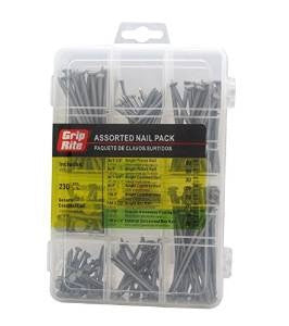 Grip Rite Assorted Nail Pack