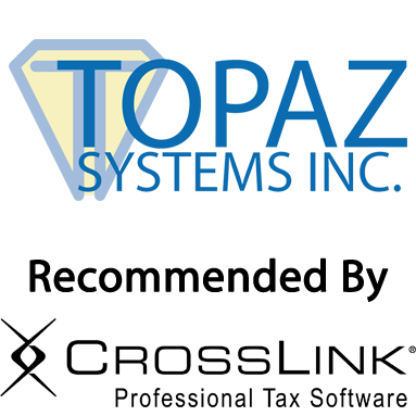 Topaz Signature Pads & CrossLink Tax Software