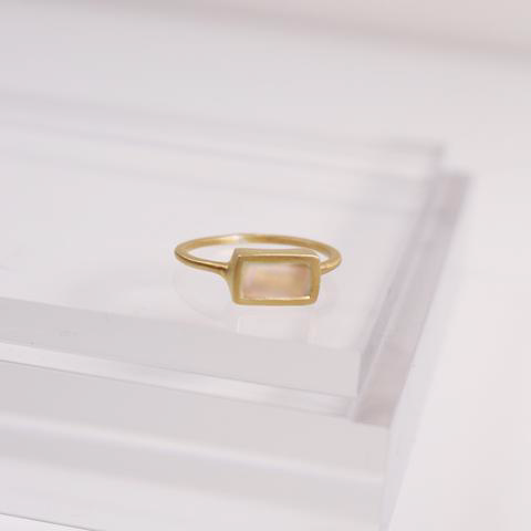 Maeve Ring - Roze Quartz
