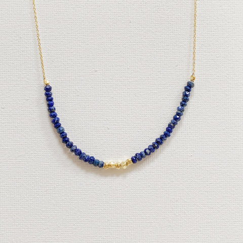 Allegra Necklace - Lapis