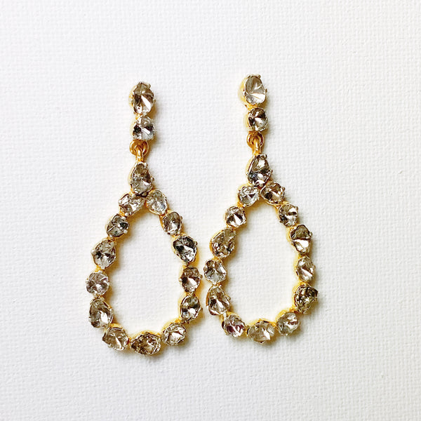 Atelier Diamond Teardrop Earrings