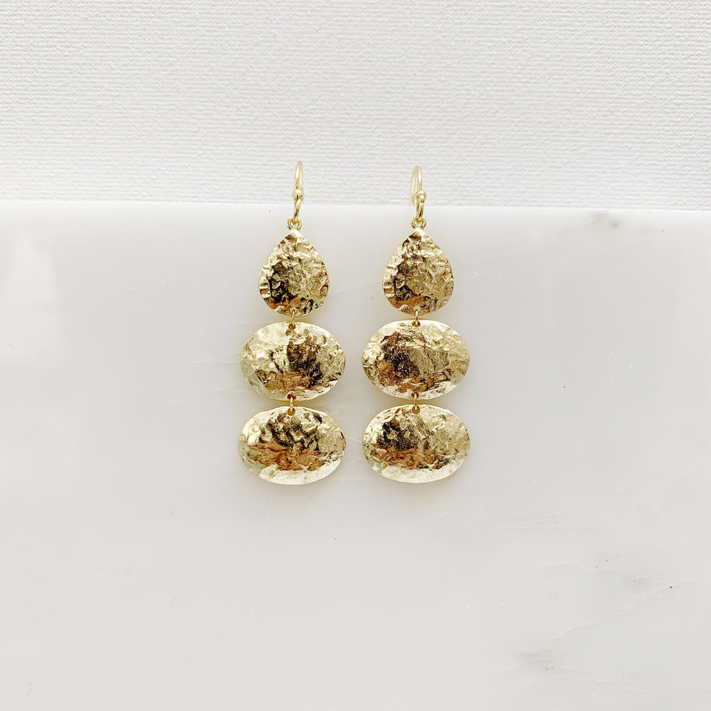 Gaudi Earrings - Gold