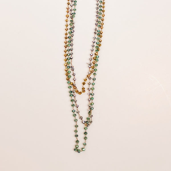 Carrie Beaded Necklace