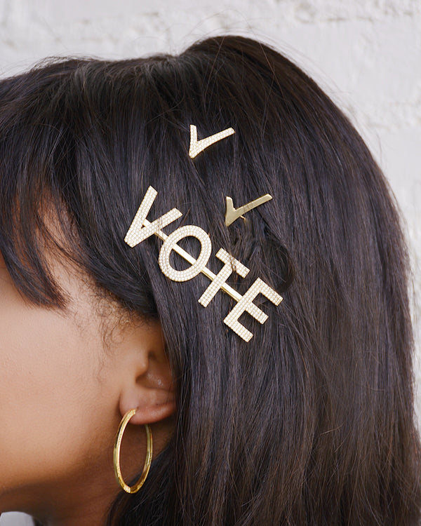 The Ramia VOTE Hair Pin