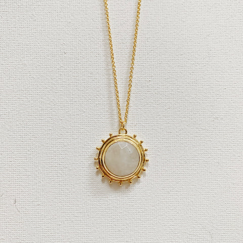 Catalina Necklace - Moonstone