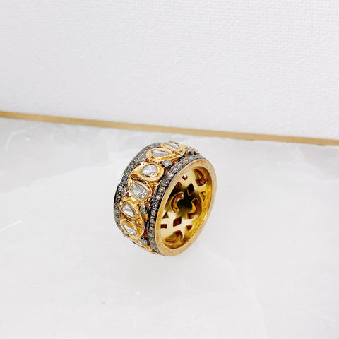 Atelier Mixed Diamond Band