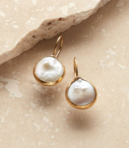 Barbados Pearl Earrings