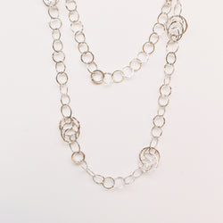 Carole Necklace - Silver