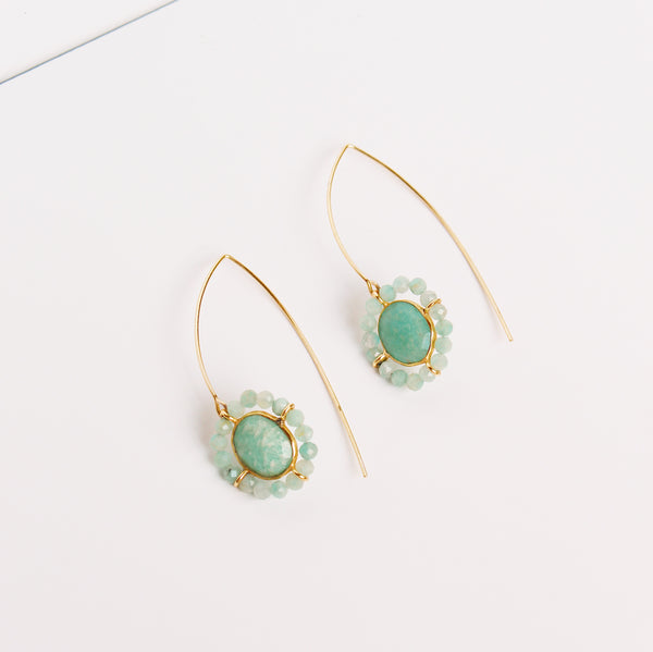 Bosphorus Earrings - Amazonite