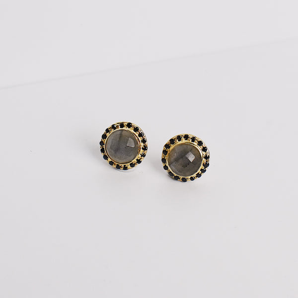 Celebration Stud Earrings - Labradorite