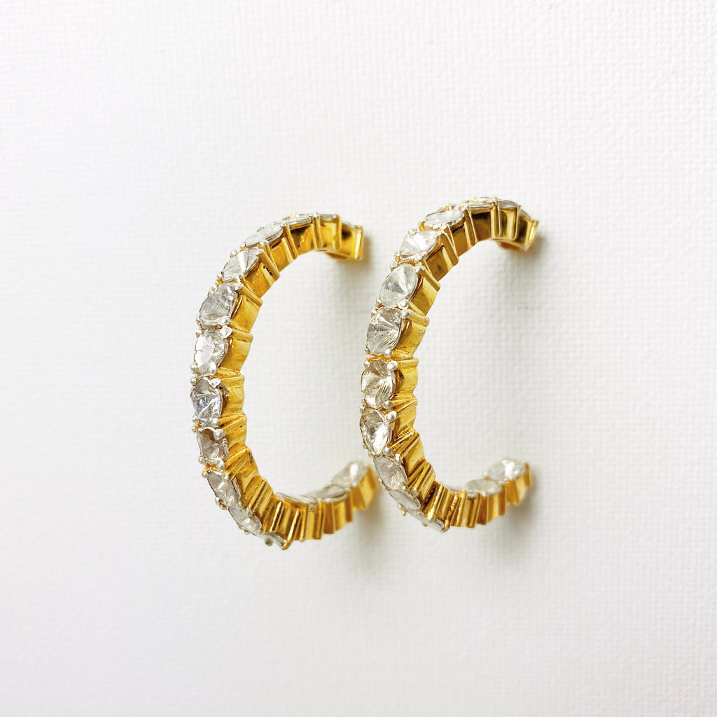 Atelier Diamond Hoop Earrings