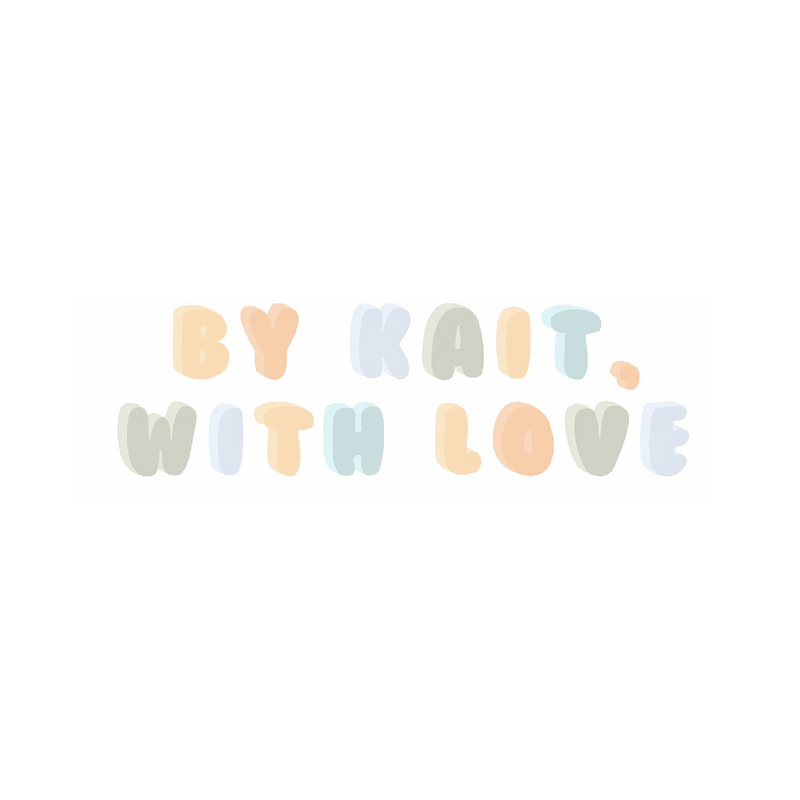 By Kait, With Love -15% off total purchases