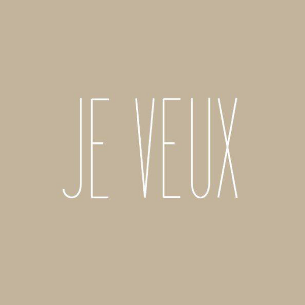Je Veux-  Save 20% on your Entire Order