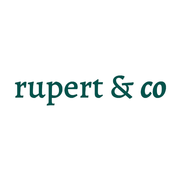 Rupert and Co. - 15% off any purchase