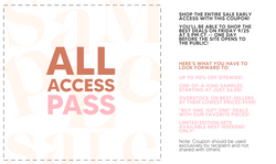 VIP Night All Access Pass