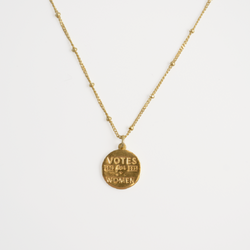 "The ""Eleanor"" Medallion Necklace"