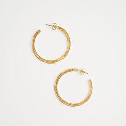 The Tarana Hoop Earrings