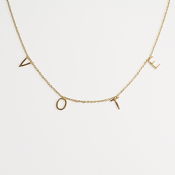 The Betty VOTE Necklace