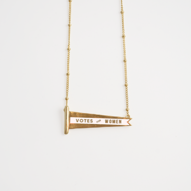 "The ""Constance"" Pennant Necklace"