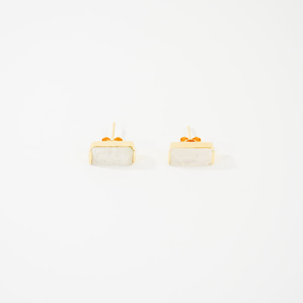 NEW! Sophie Stud Earrings- Moonstone