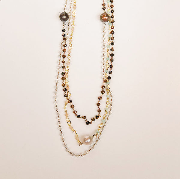 Millie Beaded Necklace