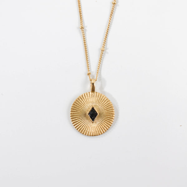 NEW! Deco Diamond Nile Pendant - Black