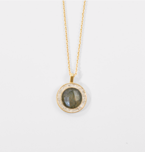 NEW! Betsy's Favorite Pendant Necklace - Labradorite