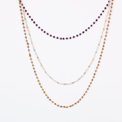 Mardi Gras long necklace