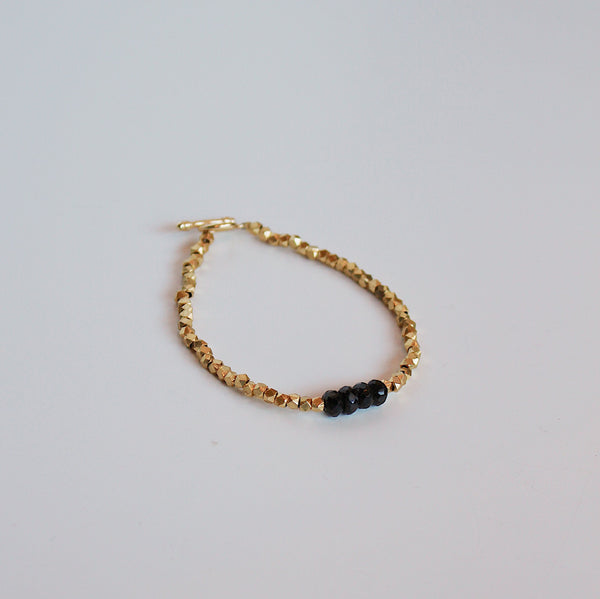 Verena Medium Bracelet - Black Onyx