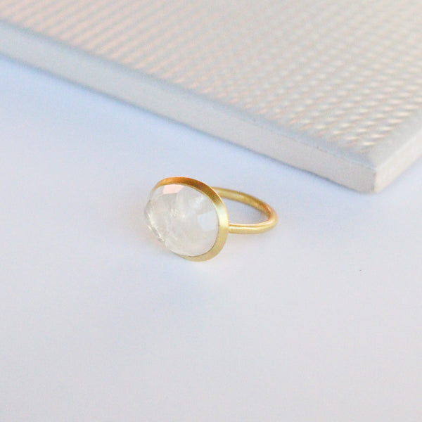 NEW! Charlotte Ring - Moonstone