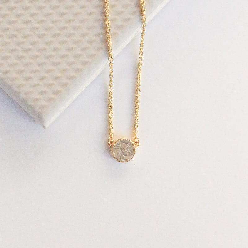 NEW! Deco Diamond Dot Necklace