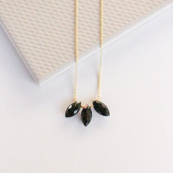 Emmeline Necklace - Black Onyx