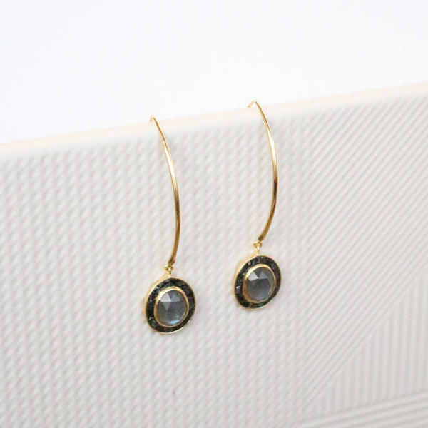NEW! Lydia Earrings - Labradorite