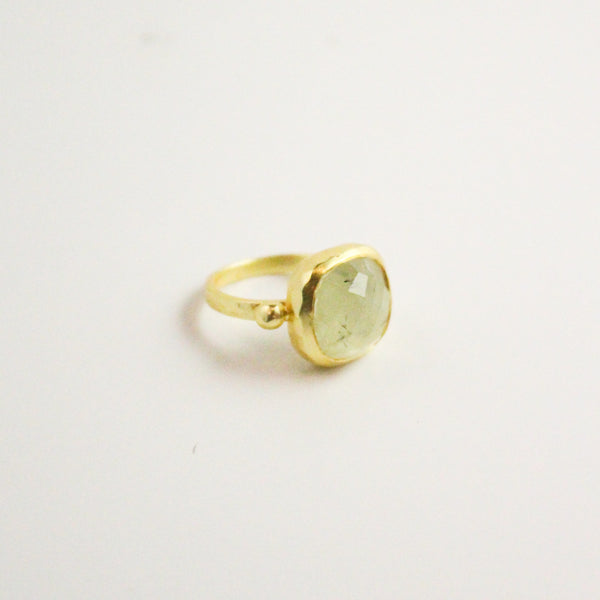 NEW! Diana Ring - Prehnite