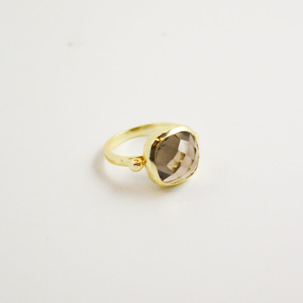 NEW! Diana Ring - Smoky Quartz